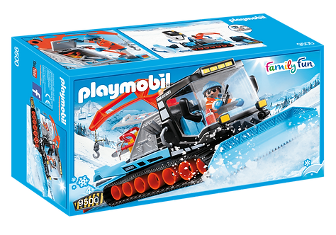 PLAYMOBIL 9500 FAMILY FUN - Snow Plow