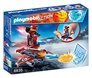 PLAYMOBIL 6835 ACTION - Firebot with Disc Shooter