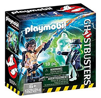 PLAYMOBIL 9224 GHOSTBUSTERS - Spengler with Ghost