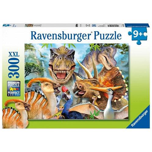 RAVENSBURGER PUZZLE 300XXL PCS DINOSAUR SELFIE