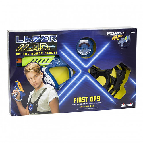 SET ELECTRONIC LAZER GUNS .M.A.D. FIRST OPS