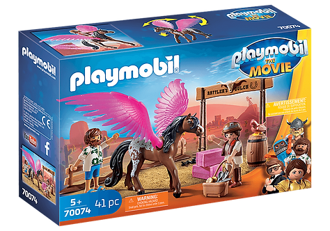 PLAYMOBIL 70074 THE MOVIE - Marla and Del with Flying Horse