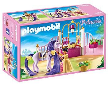 PLAYMOBIL 6855 PRINCESS - Castle Stable