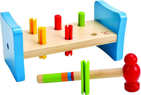 HAPE EARLY EXPLORER WOODEN FIRST POUNDER (E0503B)