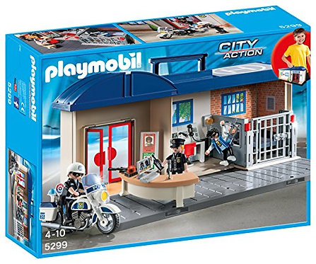 PLAYMOBIL 5299 CITY ACTION - Take Along Police Station