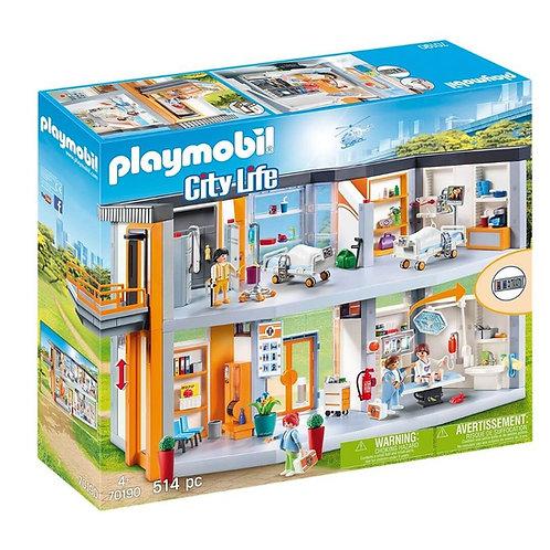 PLAYMOBIL 70190 CITY LIFE - Large Hospital
