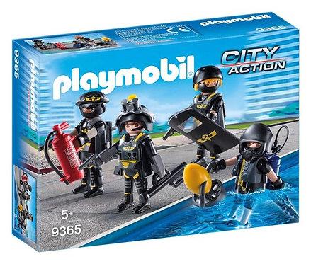 PLAYMOBIL 9365 CITY ACTION - Tactical Unit Team