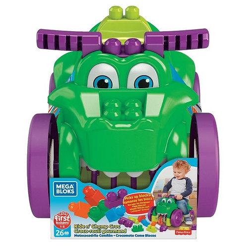MEGA BLOKS CROCODILE RIDE ON (GFG22)