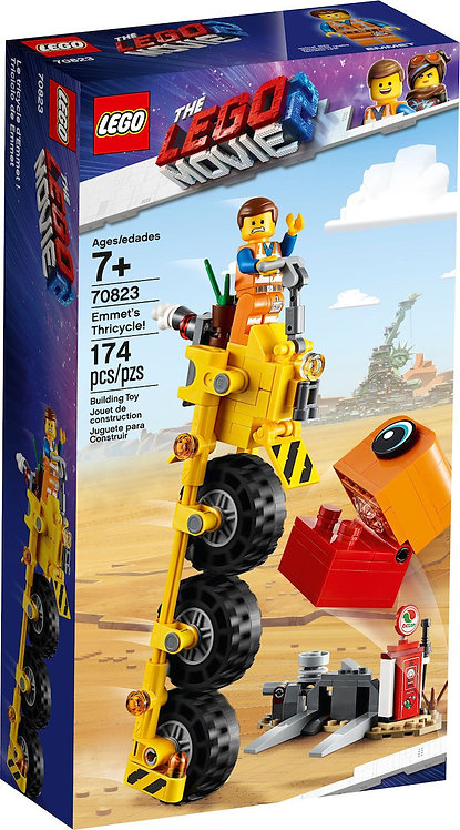 LEGO 70823 THE LEGO MOVIE 2 - Emmet's Thricycle!