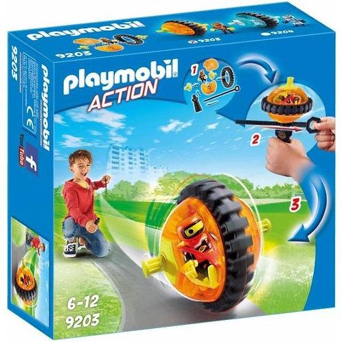 PLAYMOBIL 9203 ACTION - Orange Roller Racer