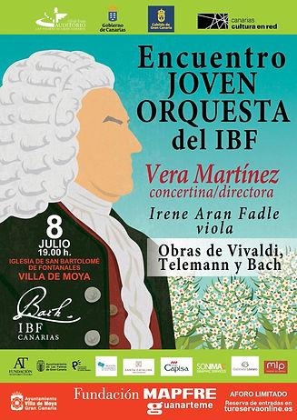Concierto Joven Orquesta IBF, 8 de julio