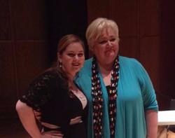 With Stephanie Blythe