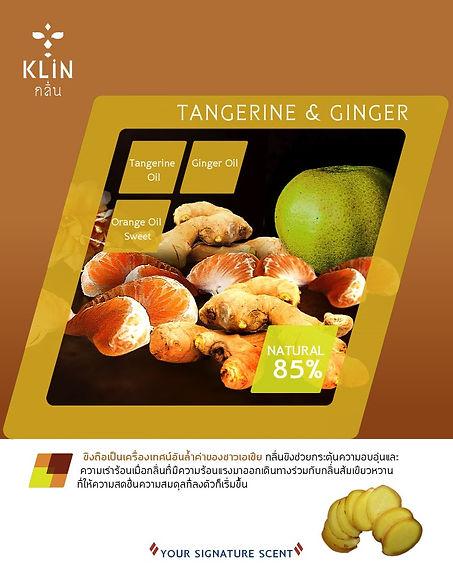 กลิ่น Tangerine Ginger