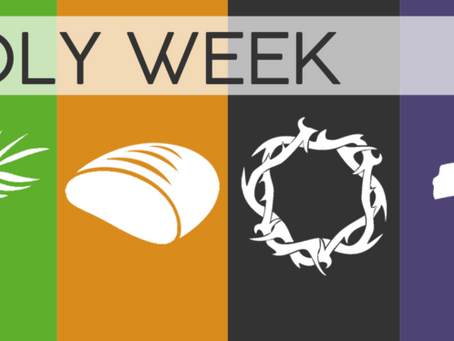 Holy Week - Daily Devotionals