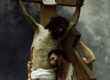 His Crucifixion is Mine?