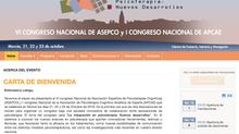 I Congreso Nacional Apcae -  Octubre 2016