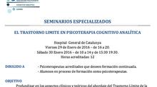 Seminario Especializado -  Enero 2016