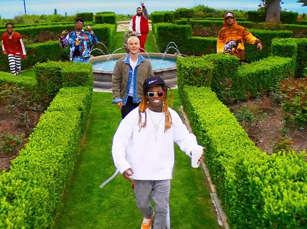 DJ Khaled ft Justin Beiber, Quavo, Chance the Rapper & Lil Wayne - I'm The One