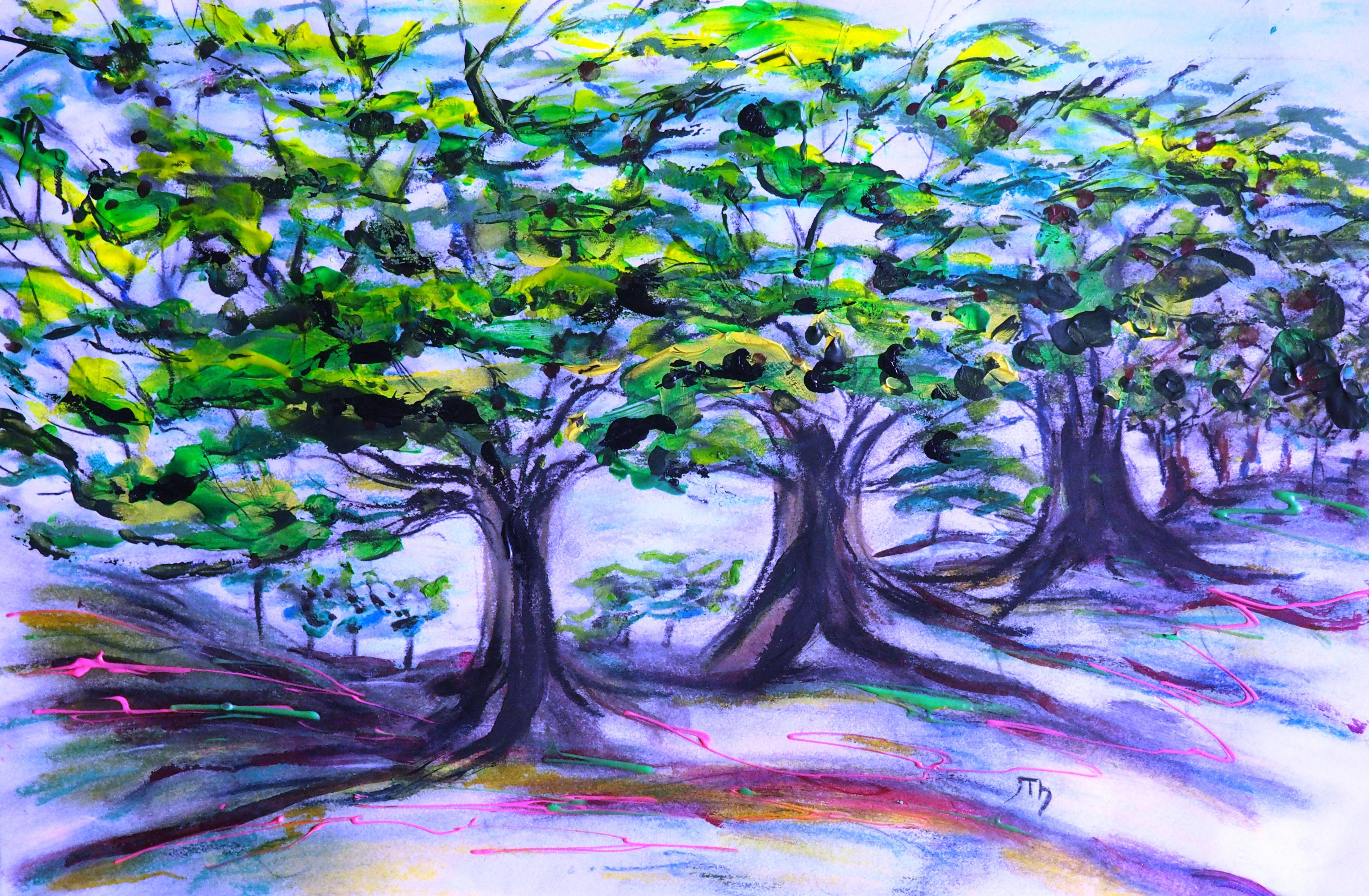 Trees of Trinity 2014