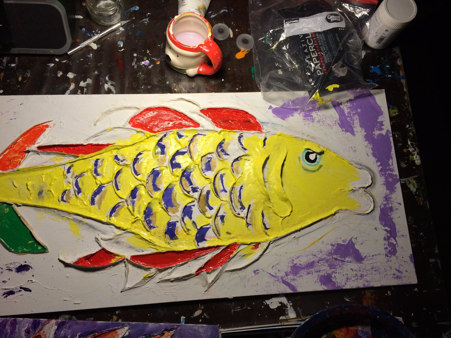 2016 Fish in-process