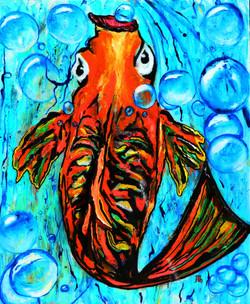 Bubbles - The Orange Fish