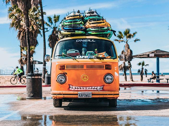 Vacaciones de surf