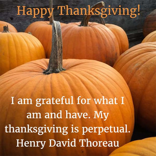 Happy Thanks and Giving!