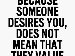 Desire Or Value?