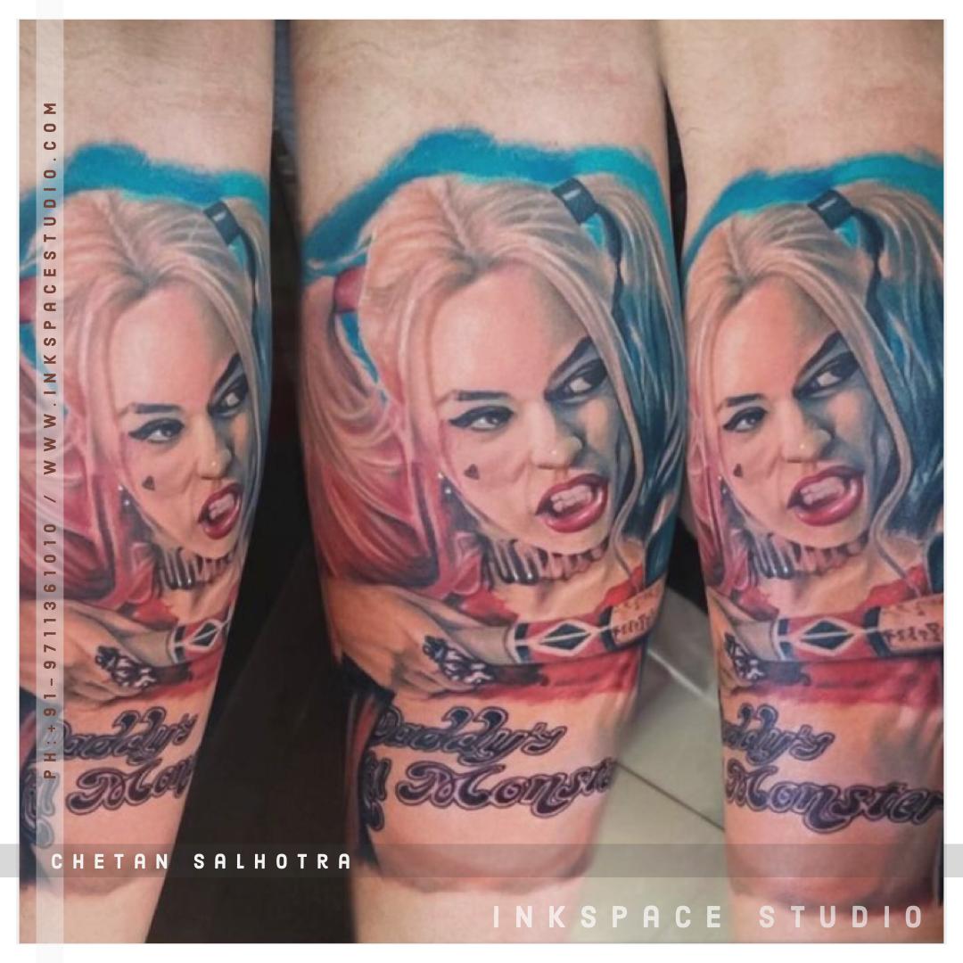 Harley Quinn Tattoo