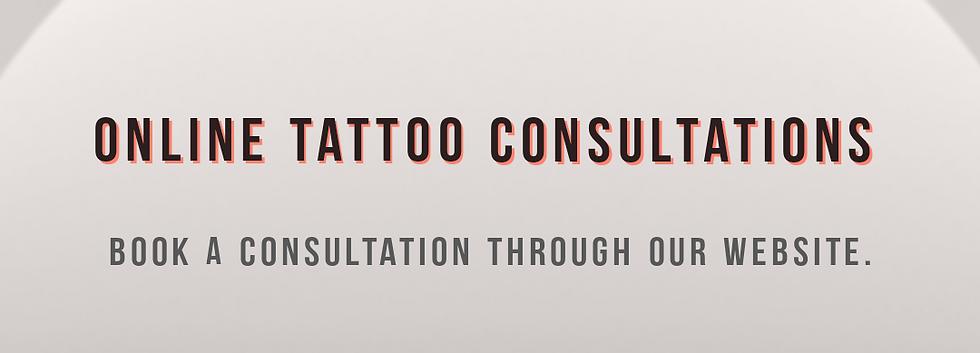 ONLINE TATTOO CONSULTATION