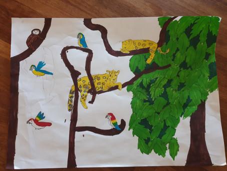 Rainforest Art - 3rd Class