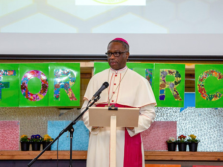 Papal Nuncio Visit