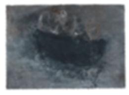 5-2017 - 005 - 22x30 - Caseine, crayon e