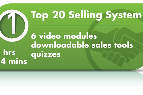 Top 20 Selling Video Training Course (Video Training)