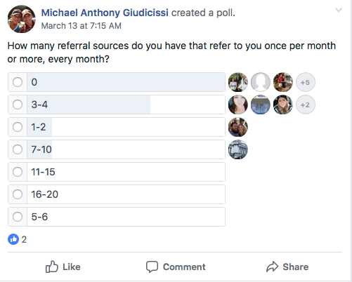"""How Many """"1 Per Month"""" Referral Sources Do YOU Have?"""