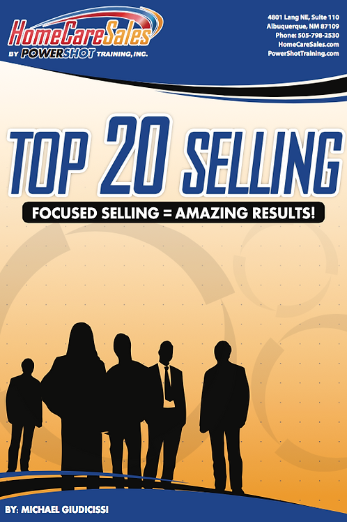 Top 20 Selling Strategy eBook