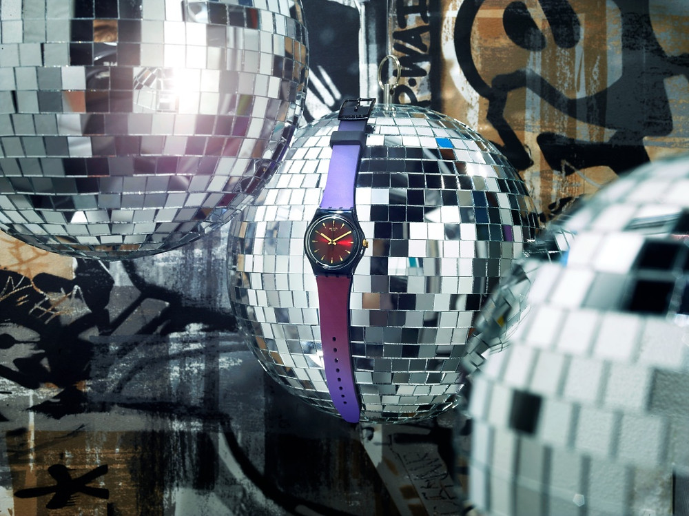 Cosmopolitan, Colorful, Sparkling: Swatch Presents Fall-Winter 2018 Collection