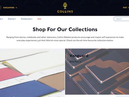 Collins Debden Unveils New E-Commerce Website