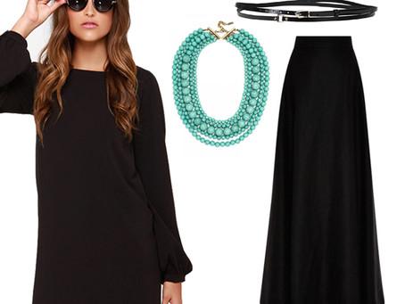 Modest Modification - The Little Black Dress