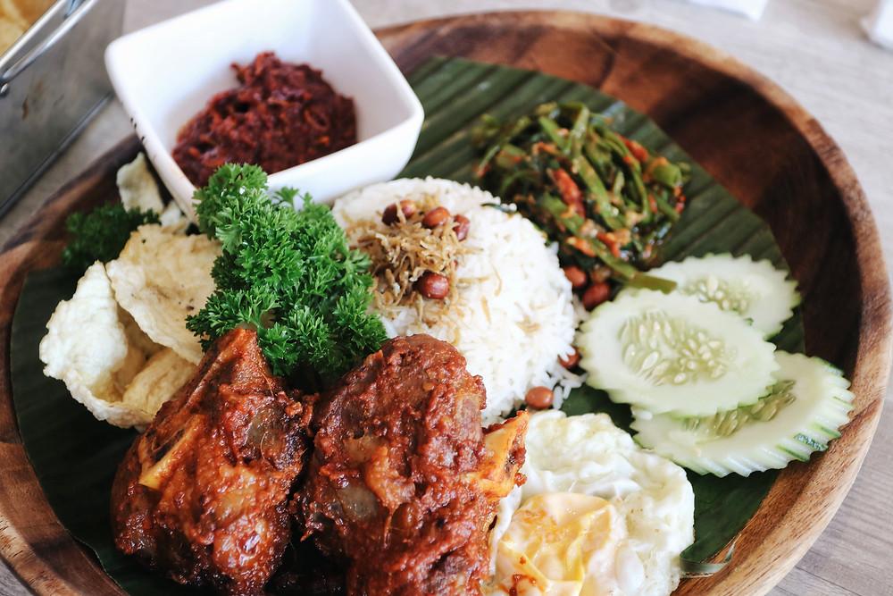 Chef Wan's Lamb Shank Rendang Nasi Lemak