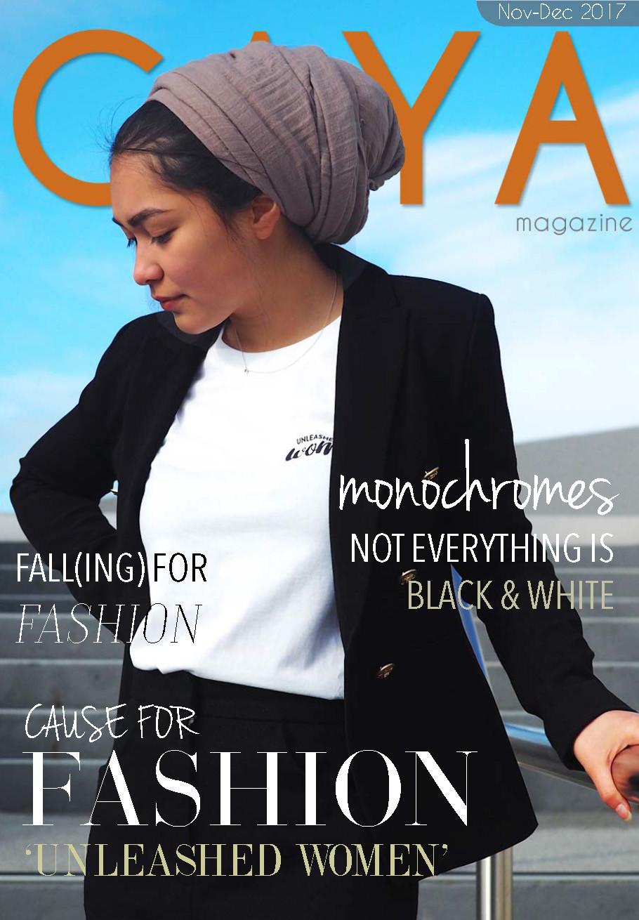GAYA Magazine - Modest Fashion Magazine - November 2017