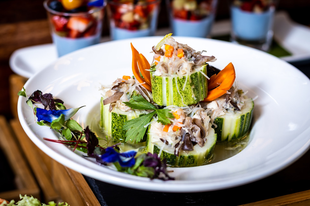 Blue Jasmine - Thai Stuffed Cucumber Soup