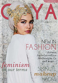 Gaya Magazine October issue - Indonesia Muslim Fashion Week. Modest Fashion Brands.