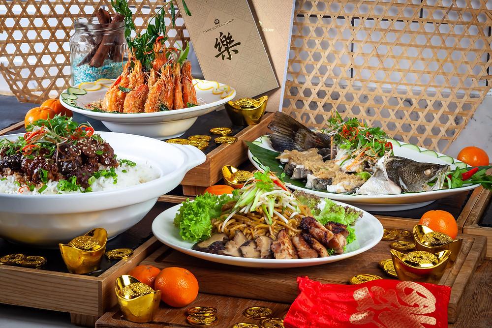 Blue Jasmine Chinese New Year Menu