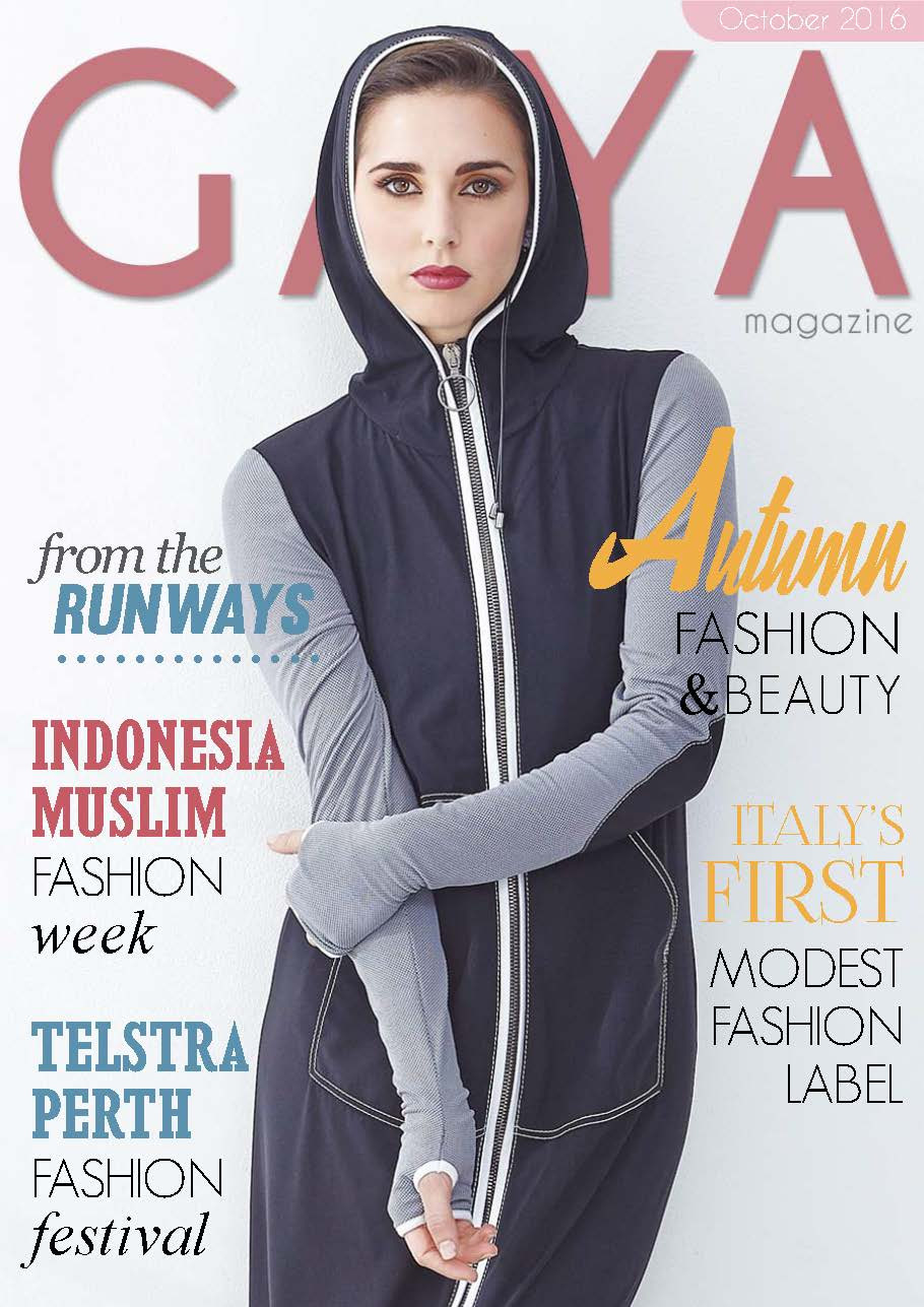 Gaya Magazine October issue - All you need on hijab fashion and modest fashion