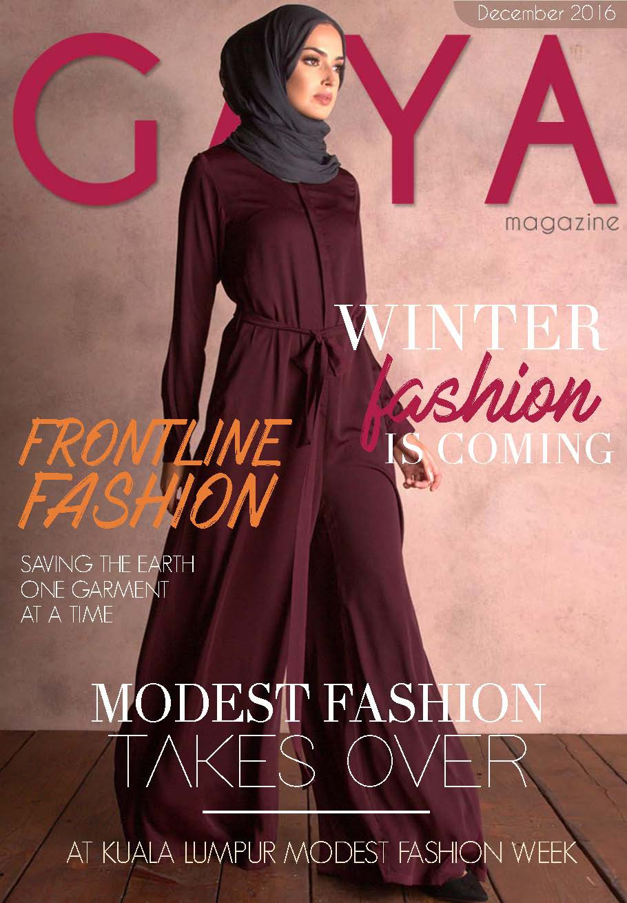Gaya Magazine November issue. Your exclusive front row seats at Jakarta & Singapore Fashion Week 2016.