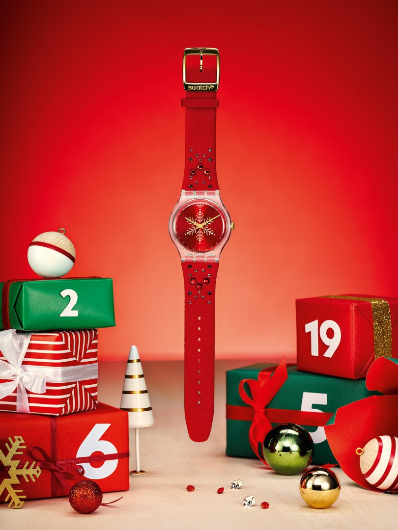 SWATCH SHINES BRIGHT AND LIGHTS UP FOR HOLIDAY SEASON