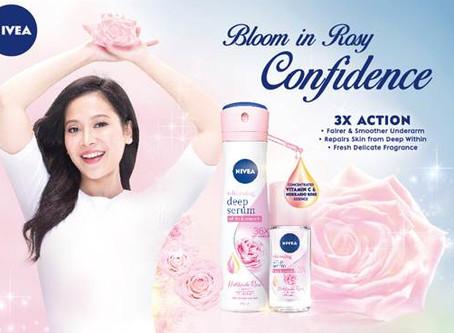 Nivea Features Rare and Luxurious Hokkaido Rose in the All-New Whitening Deep Serum Deodorant