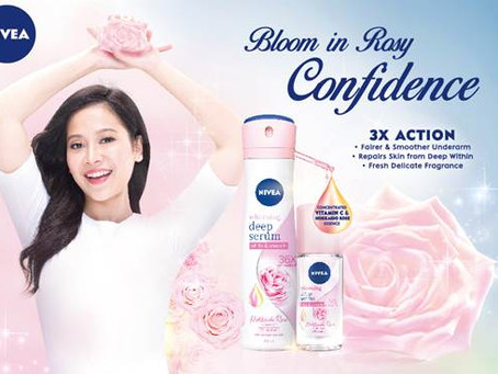 Nivea Features Rare and Luxurious Hokkaido Rose in the All-New Whitening Deep Serum Deodorant