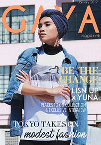 Gaya Magazine January issue - Hijab fashion, Modest Fashion, Muslim Fashion